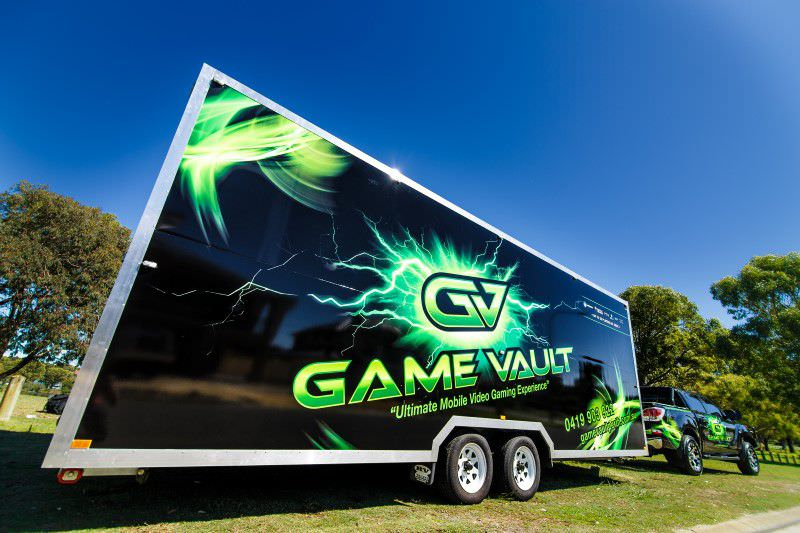 Game Vault arriving at your event