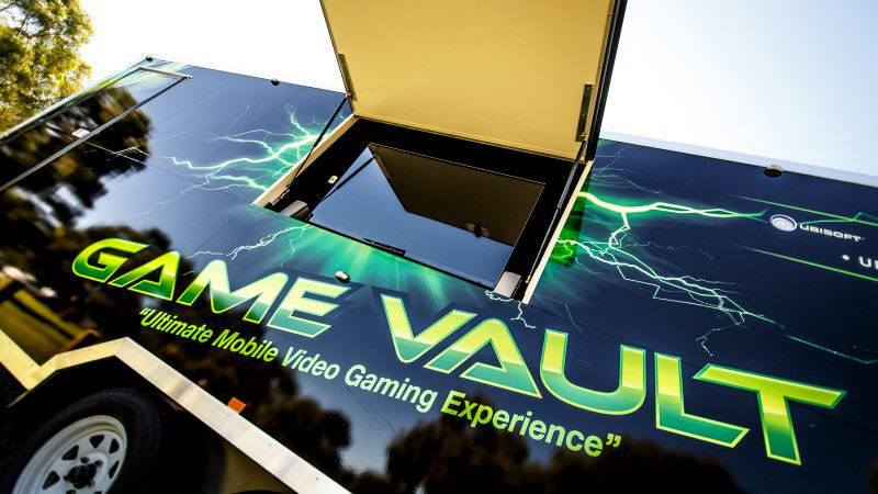 The Game Vault truck