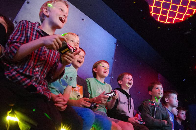 Game Vault Perth - Kids are happy playing video games with their friends