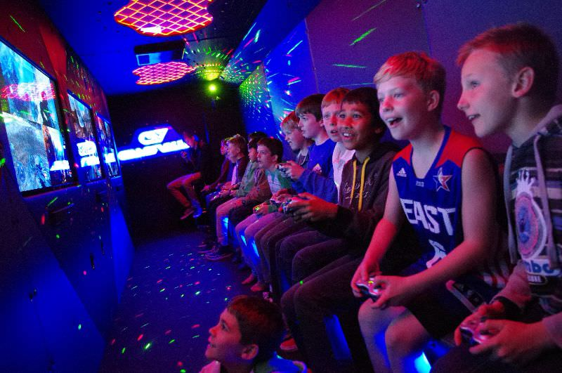 The challenge is on - Game Vault Perth provides the best in kids birthday party experiences