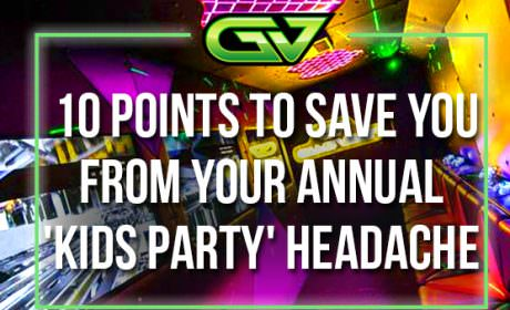 Game Vault Perth - 10 points to save you from your annual kids party headache