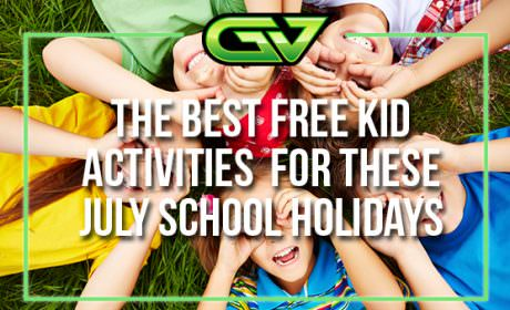 Game Vault presents the best free kids activities for the July school holidays