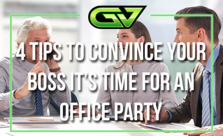 Game Vault's four tips to convince your boss it's time for an office party