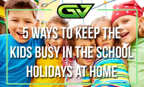 Game Vault gives you five ways to keep the kids busy at home in the school holidays