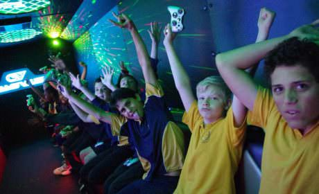 Game Vault - Kids Parties Perth - raise your hands in the air and wave them like you just don't care