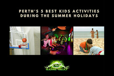 Game Vault- Perth kids parties and activities for the summer