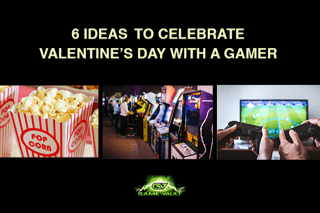 Game Vault - February Blog Post - 6 ideas to celebrate Valentines day with a gamer
